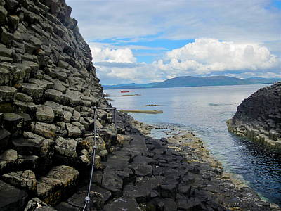 Photograph - Staffa by Denise Mazzocco