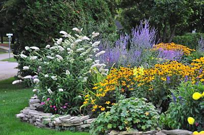 Photograph - Stafford's Bay View Inn Garden by Brian Hoover