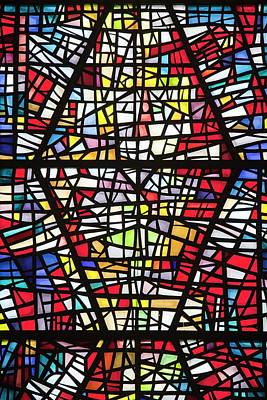 Worship God Photograph - Stained Glass Windows by Ashley Cooper