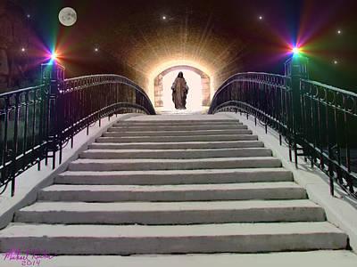Book Of Life Digital Art - Stairway To Heaven by Michael Rucker
