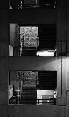 Photograph - Juneau Stairwell by Marilyn Wilson