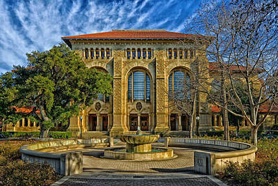 Stanford University's Cecil Green Library Art Print by Mountain Dreams