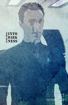Enterprise Mixed Media - Star Trek Into Darkness Khan by Pablo Franchi
