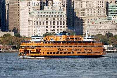 Photograph - Staten Island Ferry by Rob Hans