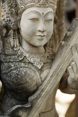 Statue - Bali Art Print