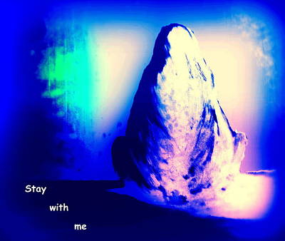 Educating Painting - Stay With Me, Make Me Sway  by Hilde Widerberg