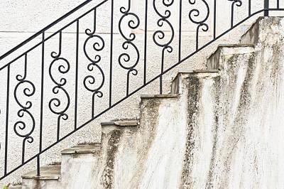 Steps Art Print by Tom Gowanlock