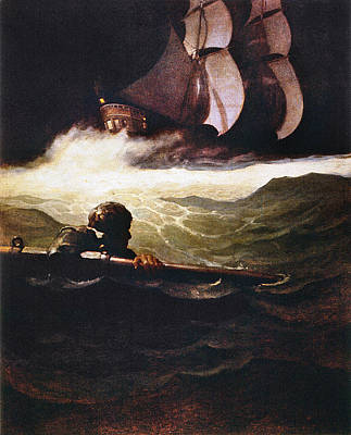 Drowned Painting - Stevenson Kidnapped, 1913 by Granger