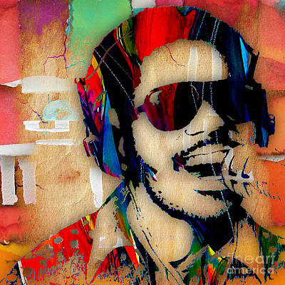 Stevie Wonder Collection Art Print