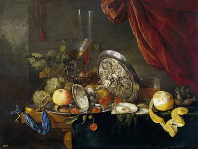 Heem Painting - Still Life by Cornelis de Heem