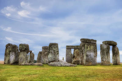 Bronze Age Photograph - Stonehenge by Joana Kruse