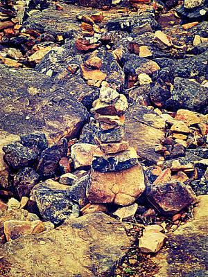 Stones Art Print by Girish J