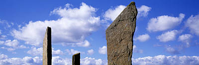 Megalith Photograph - Stones Of Stenness, Orkney Islands by Panoramic Images