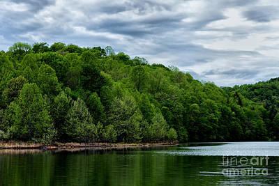 Stonewall Jackson Photograph - Stonewall Jackson Lake Wildlife Management Area by Thomas R Fletcher
