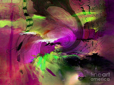 Abstract Art Mixed Media - Storm Watch by Marvin Blaine