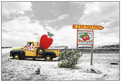 Photograph - Strawberry Fields Forever by Gabriele Pomykaj