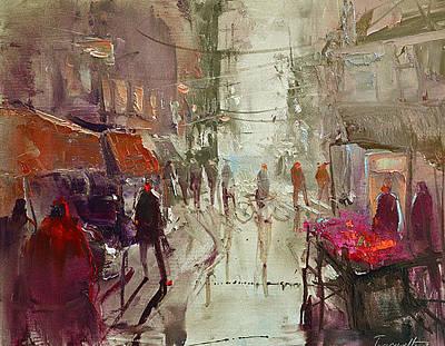 Painting - Street by David Figielek