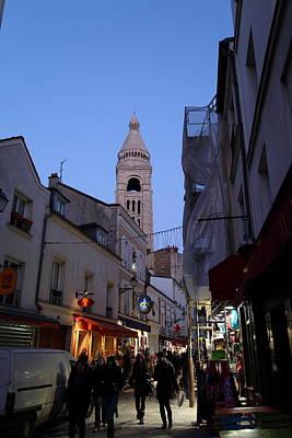 Street Scenes - Paris France - 01131 Art Print by DC Photographer