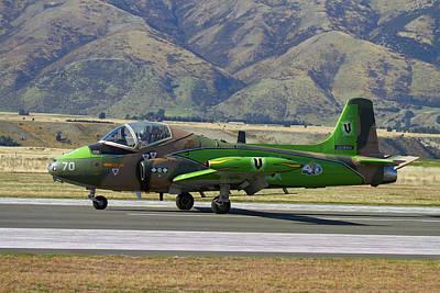 Strikemaster Jet, Warbirds Over Wanaka Art Print