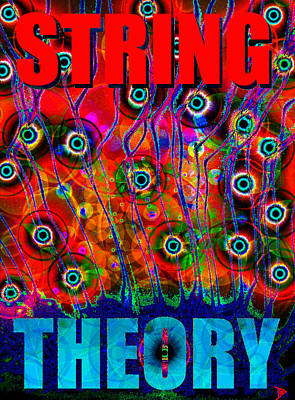 Painting - String Theory by David Lee Thompson