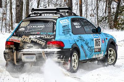 Subaru Rally Photograph - Subaru Car 165 by Rick Jackson