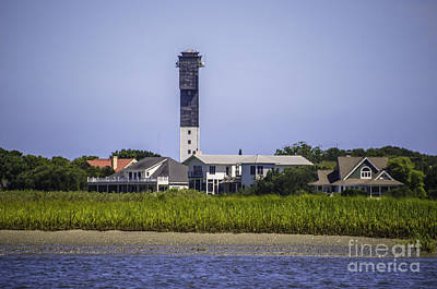 Photograph - Sullivan's Island Lighthouse From The Icw by Dale Powell