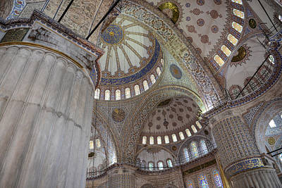 Photograph - Sultanahmet Mosque by Brandon Bourdages