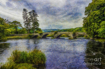 Pasture Scenes Digital Art - Summer River by Ian Mitchell