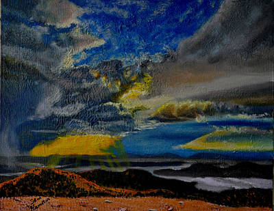 Painting - Sun And Clouds by Stan Hamilton