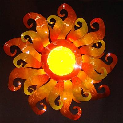 Sun Light Art Print by Diane Snider