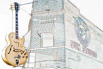 Photograph - Sun Studio Memphis by Liz Leyden