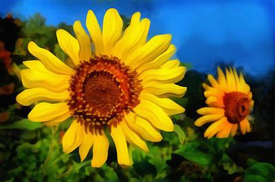 Digital Art - Sunflower by Ann Powell