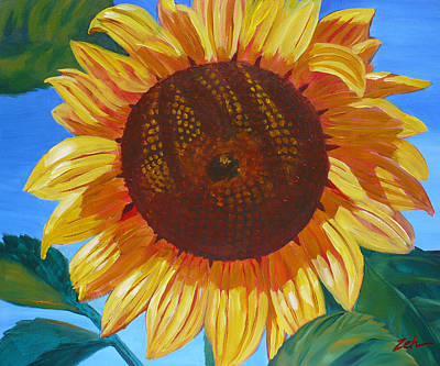 Painting - Sunflower by Janet  Zeh