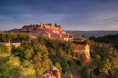 Sunrise At Roussillon Art Print