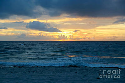 Photograph - Sunrise In Deerfield Beach by Rafael Salazar