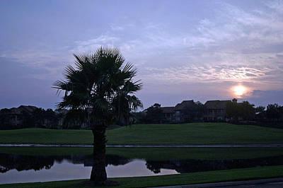 Photograph - Sunrise In Destin by Cora Wandel