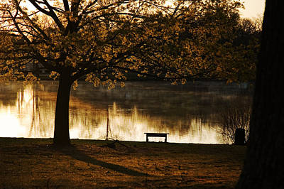 Photograph - Sunrise In The Park by Robert Culver
