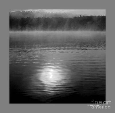 Sunrise Over Lower Lake Rhoda Art Print