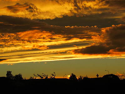 Photograph - Sunset After The Storm. by Joyce Woodhouse