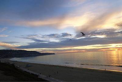 Photograph - Sunset At Redondo by Marian Jenkins