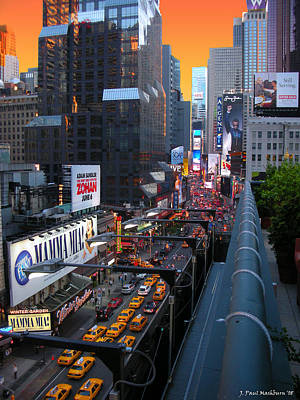 Photograph - Sunset On Broadway by Paul Mashburn