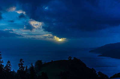 Photograph - Sunset Over Blue by Joseph Amaral