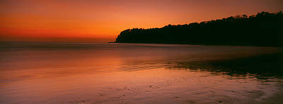Sunset Over The Sea, Goa, India Art Print by Panoramic Images