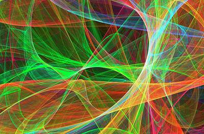 Superstrings Art Print