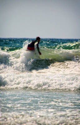 Photograph - Surfing In California by Doc Braham