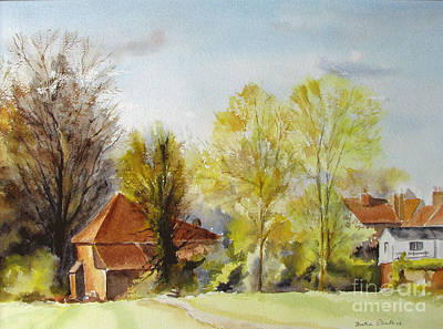 Painting - Sweet England by Beatrice Cloake