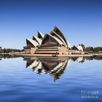 Photograph - Sydney Opera House  by Colin and Linda McKie