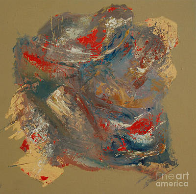 Art Print featuring the painting Syncopation 2 by Mini Arora