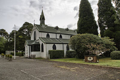 Photograph - St Barbaras Garrison Church Deep Cut by Shirley Mitchell