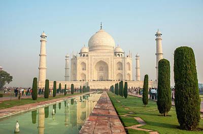Tomb Photograph - Taj Mahal, Agra, Uttar Pradesh, India by Inger Hogstrom